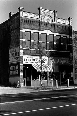 The Whale Leather Goods Shop, 521 Cedar Avenue, 1979