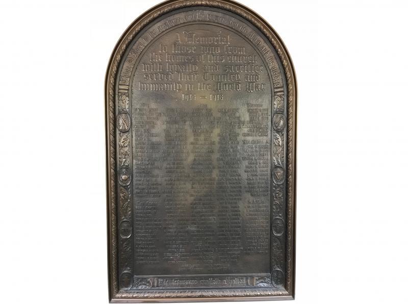 Westminster Presbyterian Church World War I Monument