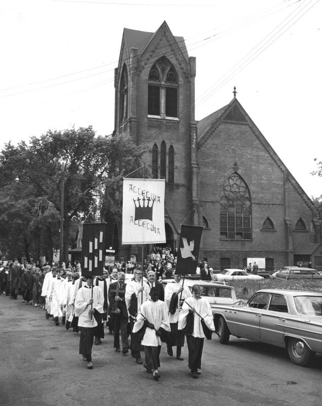 Pentecost Procession, May 29, 1966