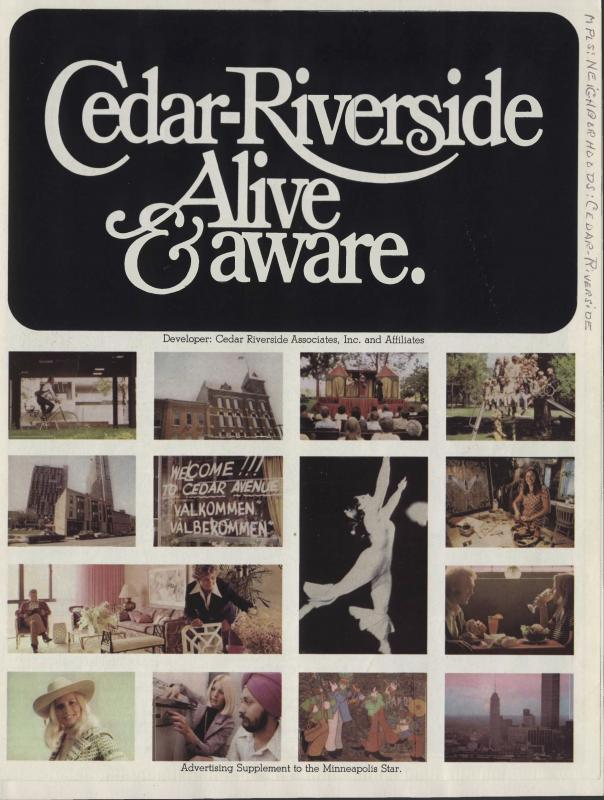 Cedar-Riverside Alive and Aware, ca. 1973