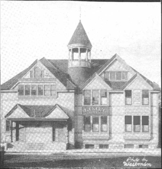 Independent Order of Good Templars Hall, 1416 2nd St. South