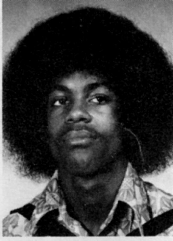 Sophomore yearbook photo of Prince Rogers Nelson, Central High School, Minneapolis, 1974