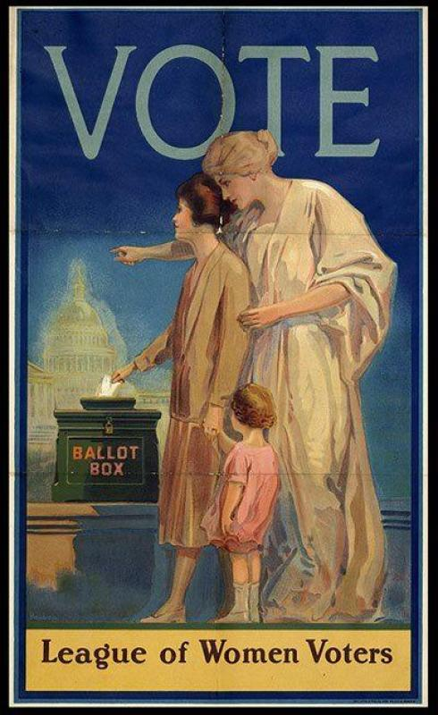 League of Women Voters poster