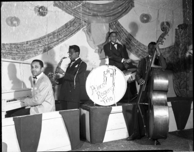 The Prince Rogers�™ Trio, Minneapolis, late 1940s.